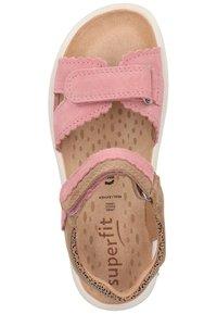 Superfit - Walking sandals - rosa/beige - 3