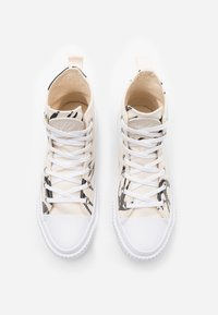 McQ Alexander McQueen - SWALLOW HI CUT UP - Sneakersy wysokie - oyster/black - 5