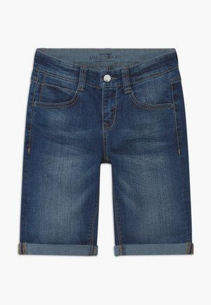Jeansshort - rinsed denim
