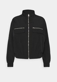 ONLY - ONLELIZABETH TRACK JACKET - Summer jacket - black - 0