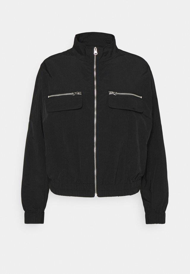 ONLELIZABETH TRACK JACKET - Summer jacket - black