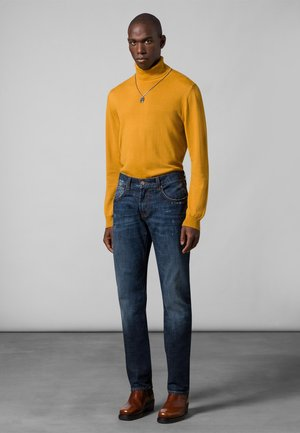 Slim fit jeans - dark blue fashion