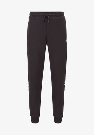 HALVO - Jogginghose - black