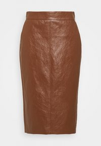 Marella - BARBIAN - Pouzdrová sukně - cuoio - 5