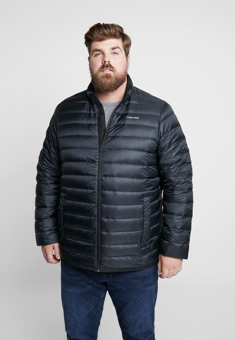 Calvin Klein - LIGHT DOWN LINER - Light jacket - black