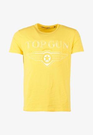SCHLICHT BLING - T-shirt print - yellow