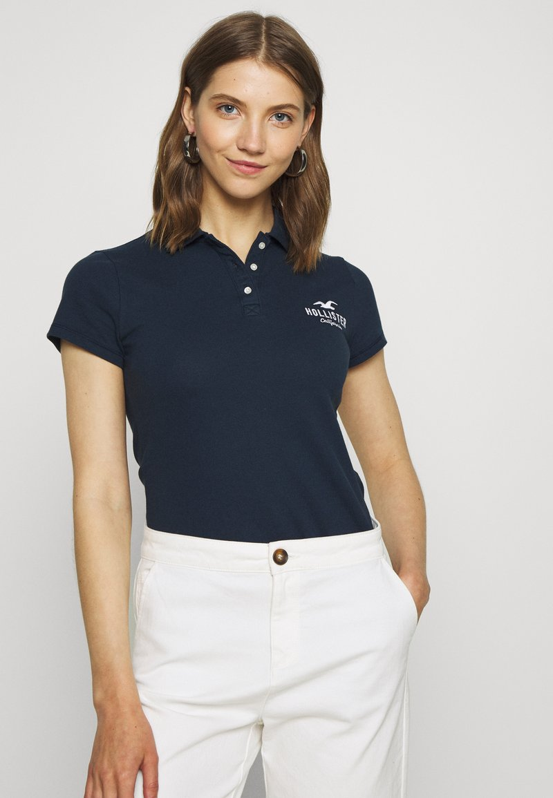 Hollister Co. - CORE LOGO - Polo - navy