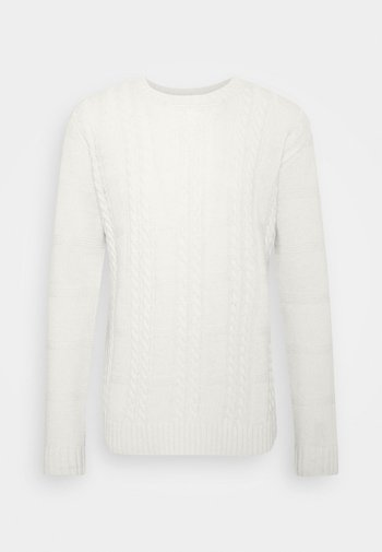 GREENE CABLE - Neule - offwhite