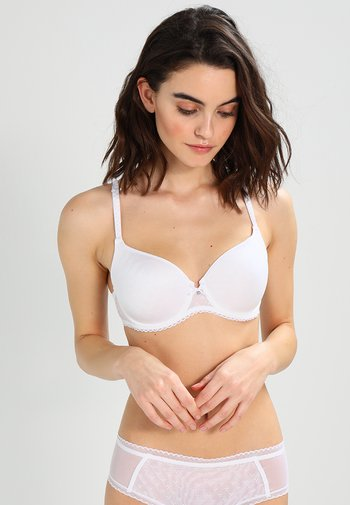 COURCELLES - Kaarituelliset rintaliivit - weiß