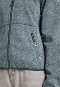 Schmuddelwedda - Light jacket - rauchmarine melange - 4