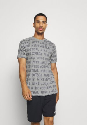FC TEE SMALL BLOCK  - T-Shirt print - grey heather