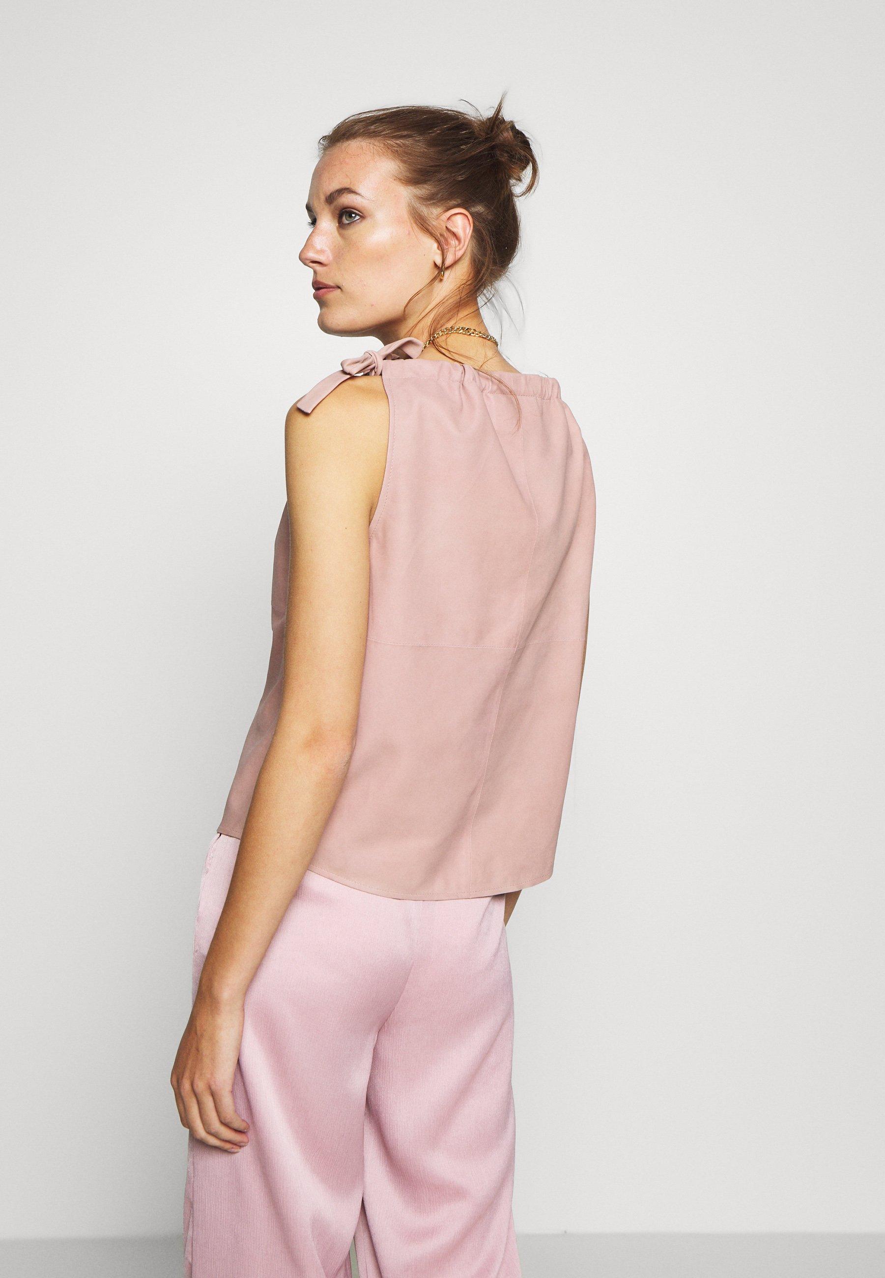 DEPECHE Blouse - dusty rose - Tops & T-shirts Femme PEcgD