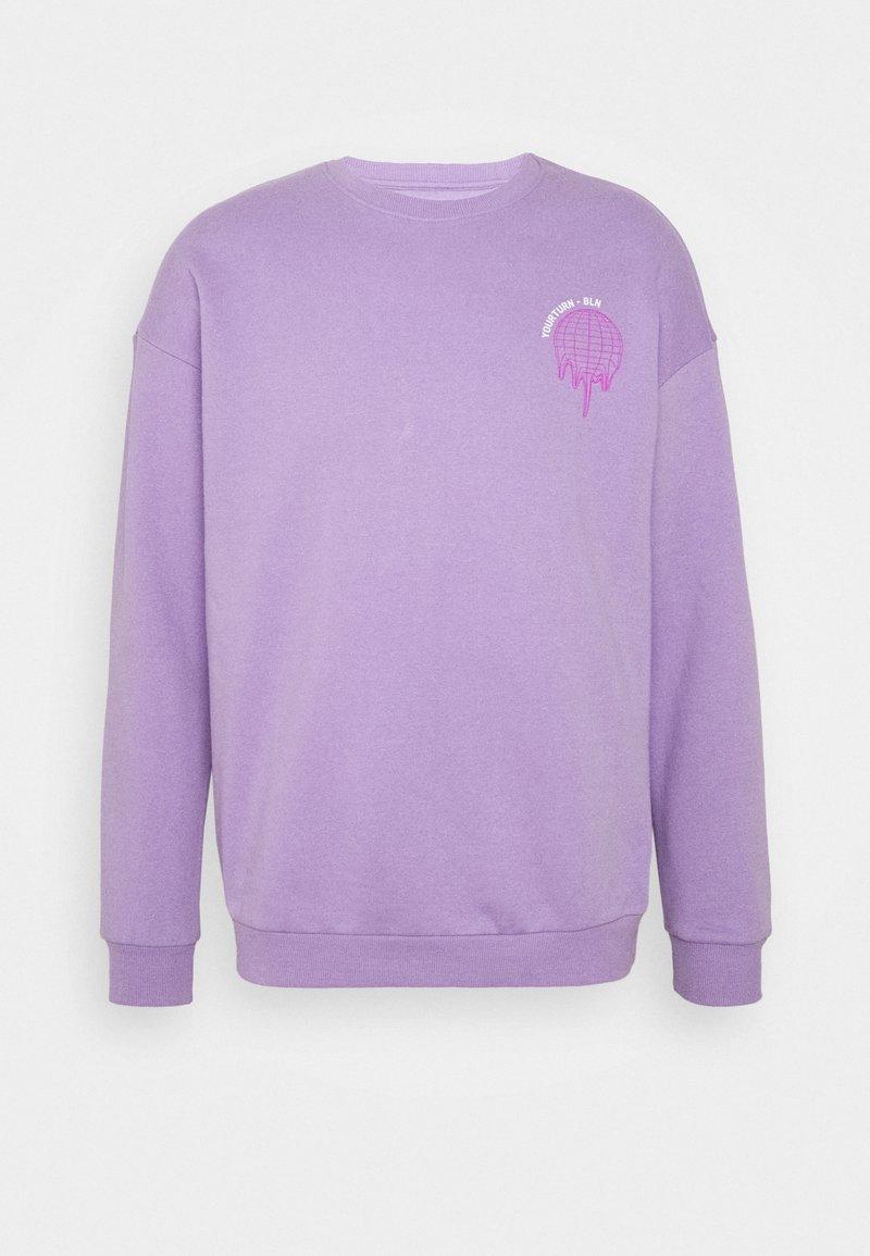 YOURTURN - Sweatshirt -  lilac