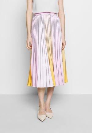 NOVIIA - A-snit nederdel/ A-formede nederdele - yellow
