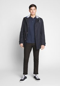 TOM TAILOR - JOSH - Slim fit jeans - black denim - 1