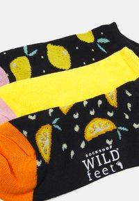 Wild Feet - LEMONS TRAINER SOCKS 3 PACK - Sokken - assorted - 1