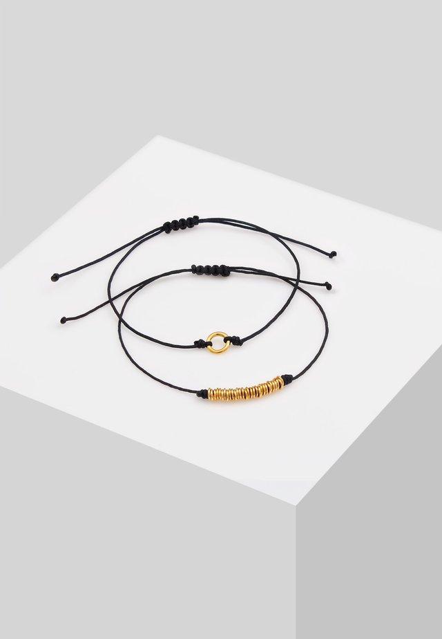 2ER SET  - Armband - gold-coloured