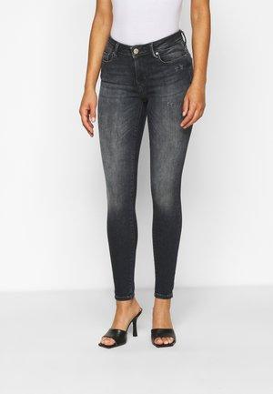 ONLSHAPE LIFE SKINNY  - Jeans Skinny Fit - blue/black denim