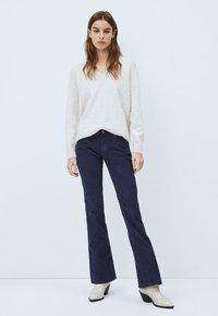 Pepe Jeans - NEW PIMLICO - Bootcut jeans - azul marino - 1