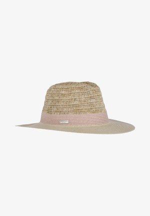 Hat - beige-rosa