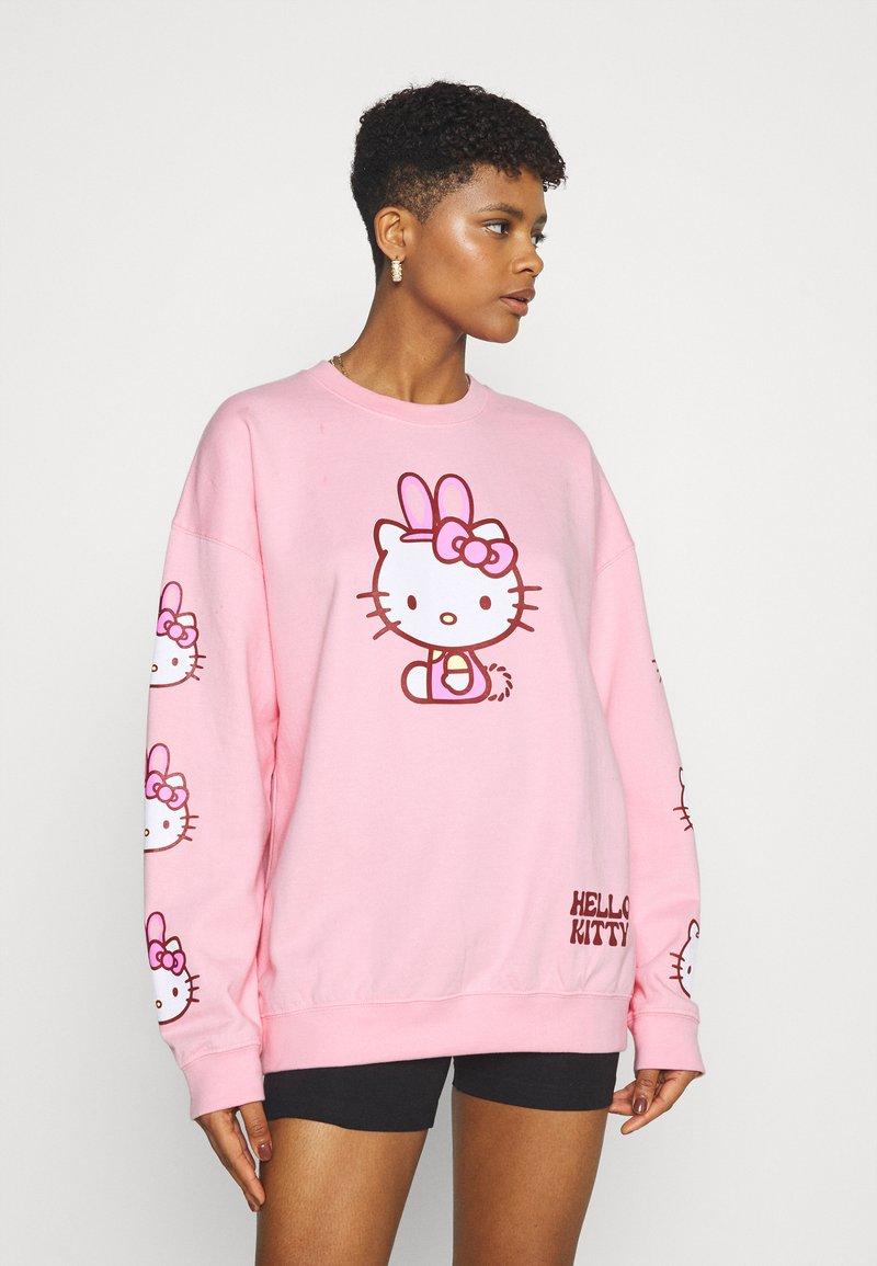 NEW girl ORDER - HELLO BUNNY - Sweatshirt - pink