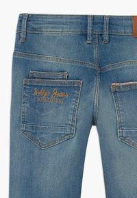 Name it - NKMTHEO PANT - Straight leg jeans - medium blue denim - 3