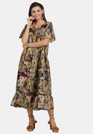 KLEID - Korte jurk - flower print