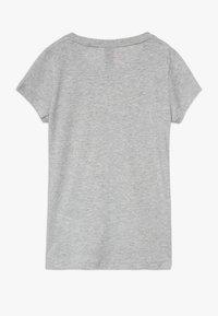 adidas Performance - TEE - Camiseta estampada - mottled grey - 1