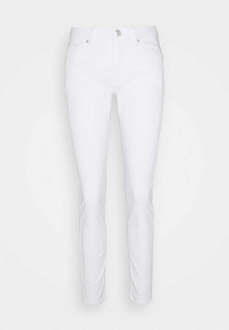 Opus - ELMA CLEAR - Jeans Skinny Fit - white