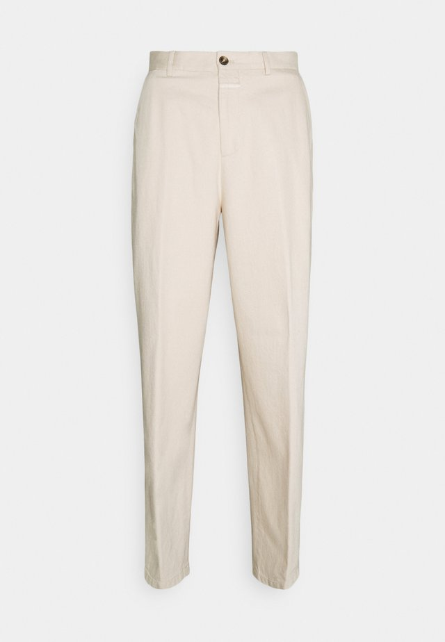 LIVINGTON WIDE - Chinos - ecru
