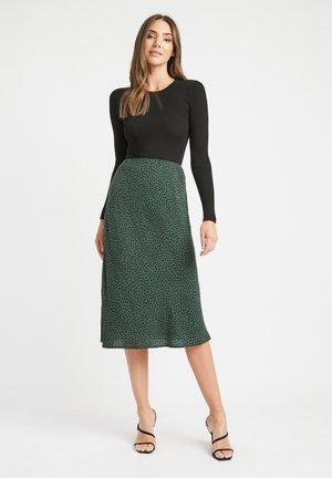 A-line skirt - nu-vert foret