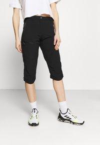Icepeak - BEATTIE - 3/4 sports trousers - black - 0