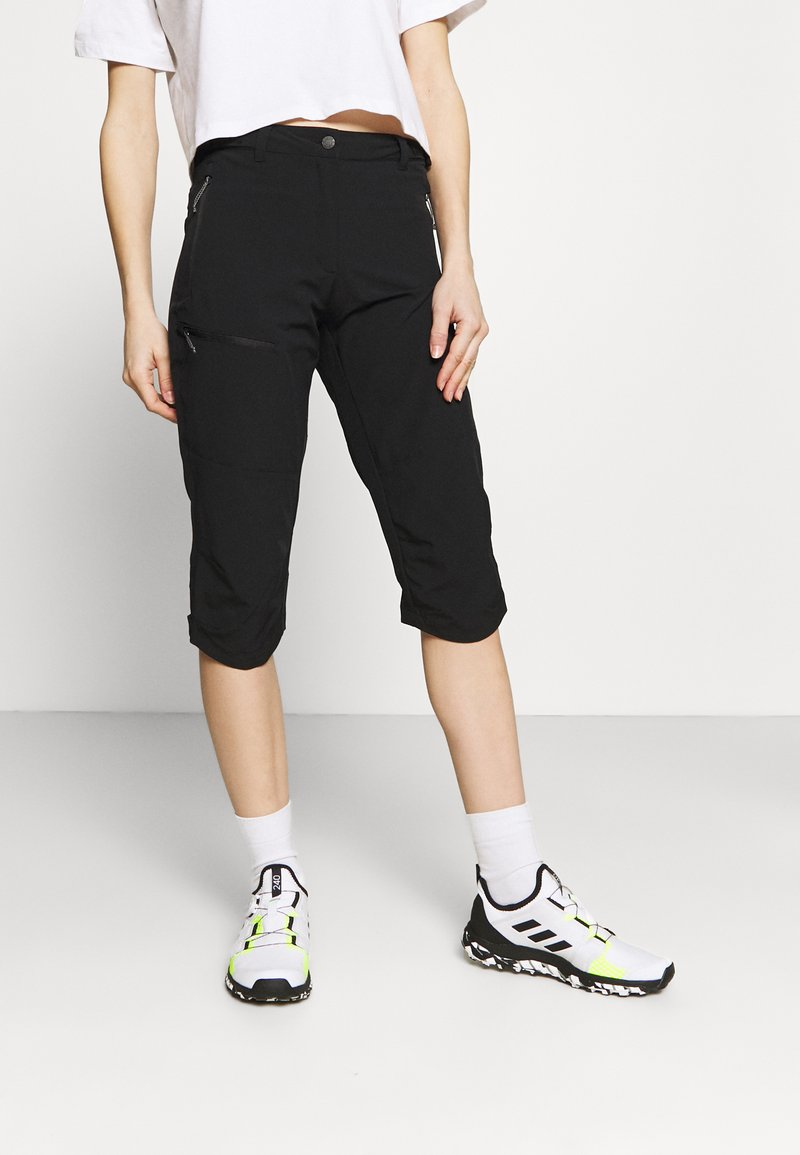 Icepeak - BEATTIE - 3/4 sports trousers - black