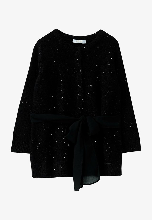 LIU JO KIDS - Cardigan - black