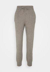 FTC Cashmere - TROUSERS - Teplákové kalhoty - truffle - 0