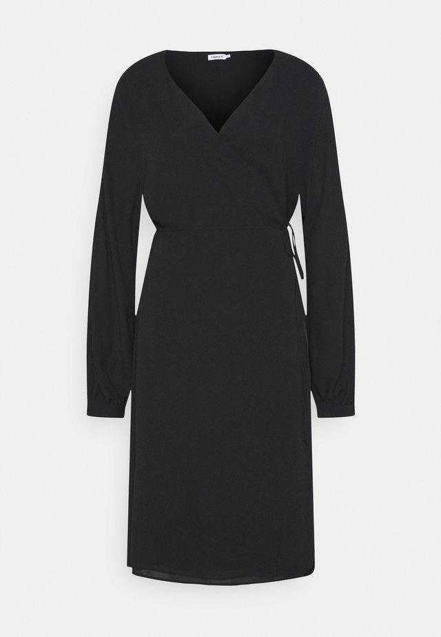 WILLA DRESS - Denní šaty - black