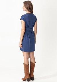 Indiska - ELINORA - Jersey dress - blue - 1