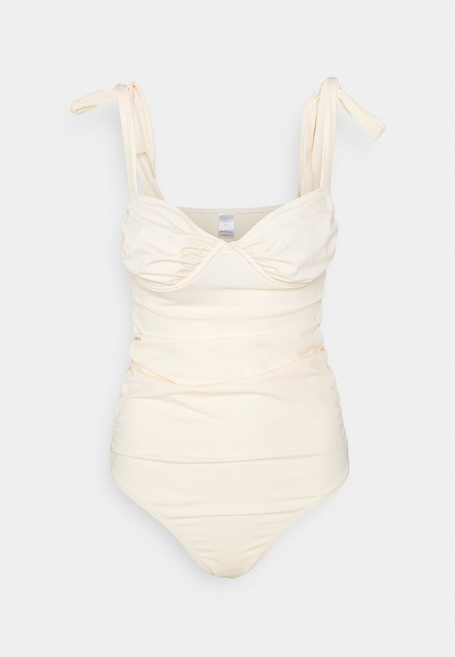 CALI SWIMSUIT - Uimapuku - light beige