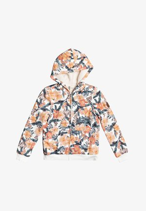 SAY LOVE  MIT REISSVERSCHLUSS  - Zip-up hoodie - snow white mahe rg