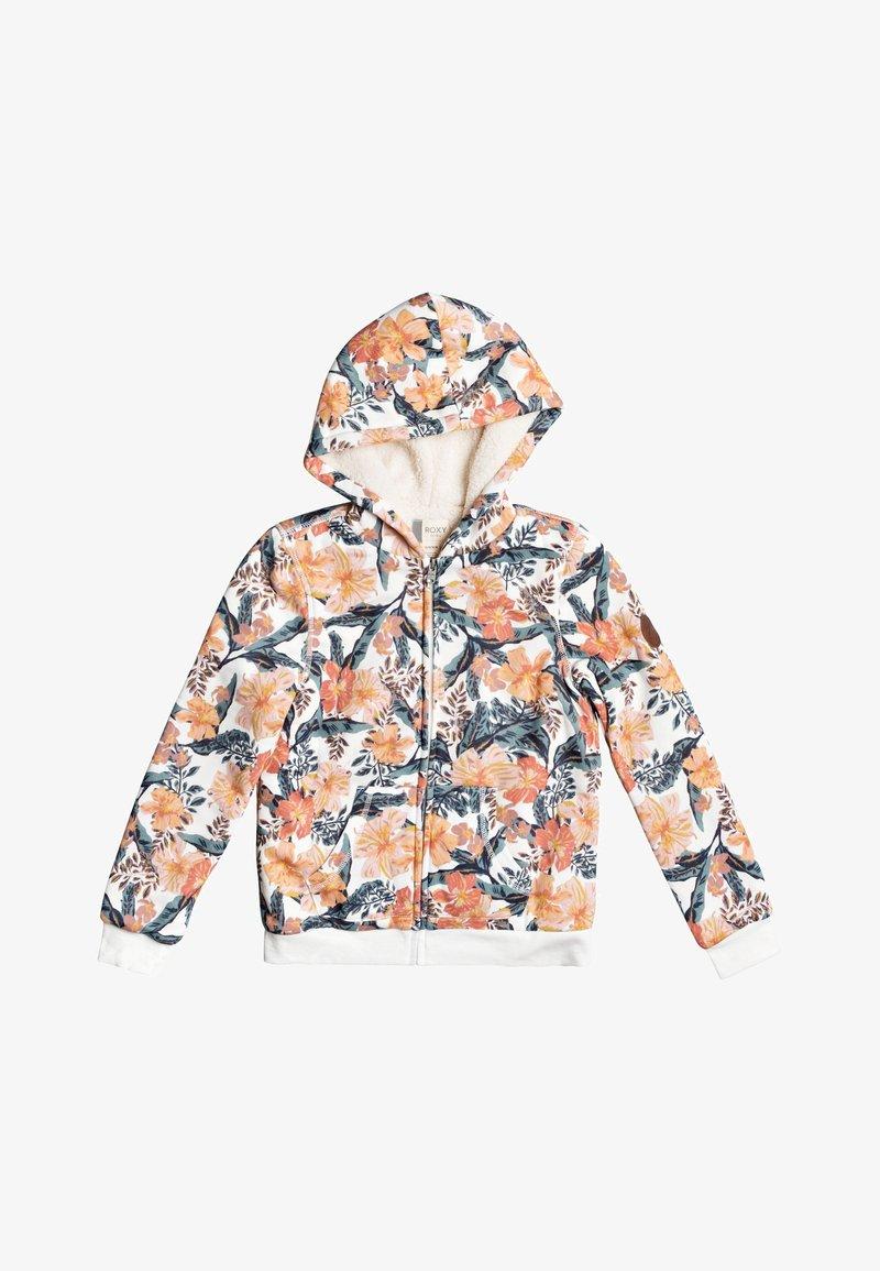 Roxy - SAY LOVE  MIT REISSVERSCHLUSS  - Zip-up hoodie - snow white mahe rg