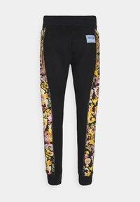 Versace Jeans Couture - HEAVY PRINT VERSAILLES - Tracksuit bottoms - black - 8