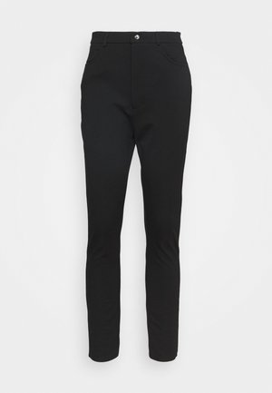 HIGH WAIST 5 pockets PUNTO trousers - Trousers - black
