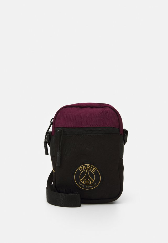 PARIS FESTIVAL BAG - Across body bag - black/bordeaux