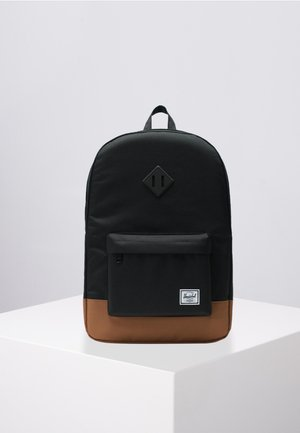 Rucksack - black/saddle brown