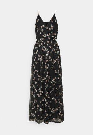 VMWONDA WRAP DRESS - Robe longue - black
