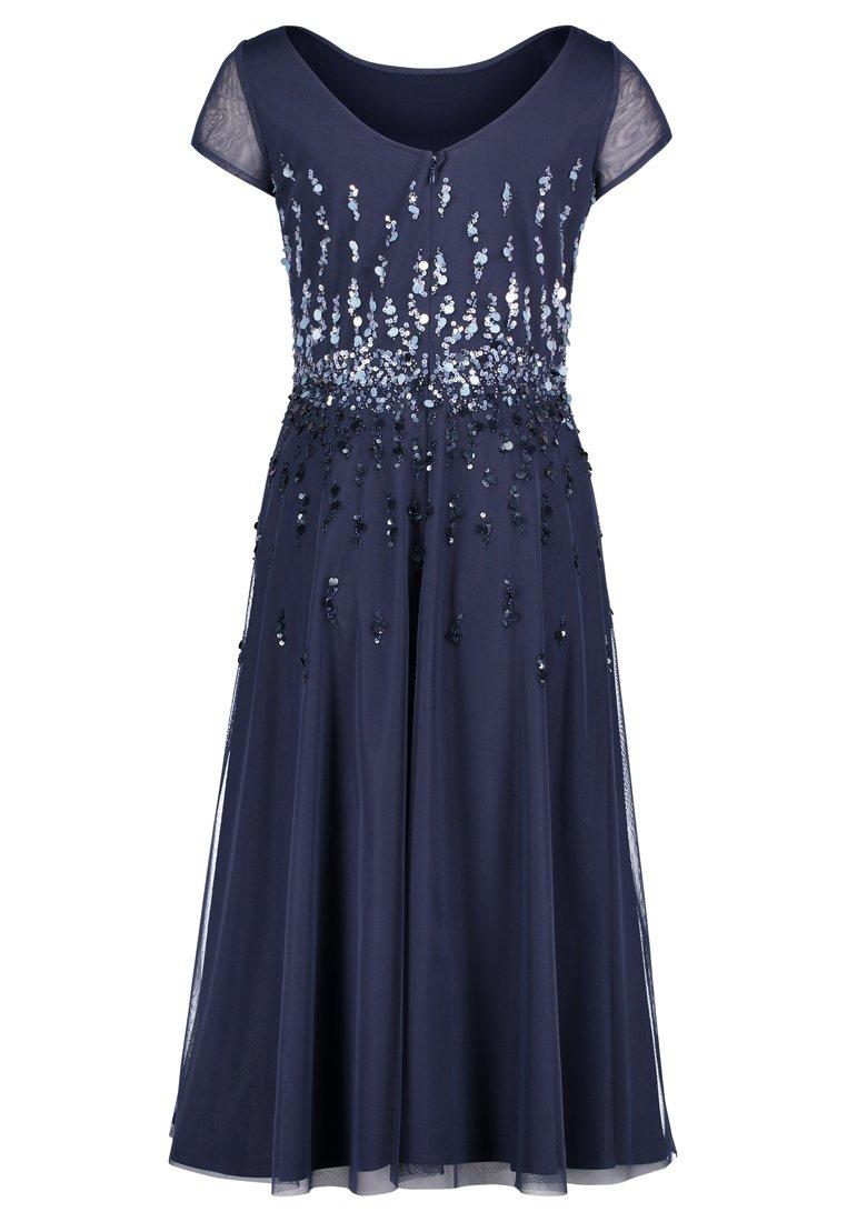 MIT PAILLETTEN   Cocktailkleid/festliches Kleid   blue plum
