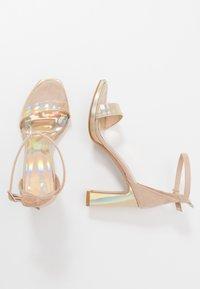 Trendyol - High heeled sandals - gold - 3
