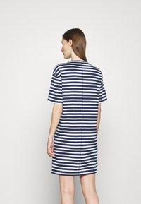 rag & bone - THE SLUB DRESS LABEL - Jersey dress - white/blue - 2