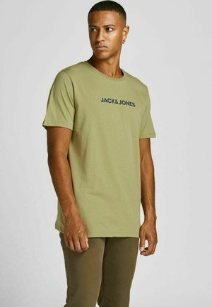 Print T-shirt - sage