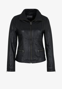7eleven - TERRY - Leather jacket - black - 3